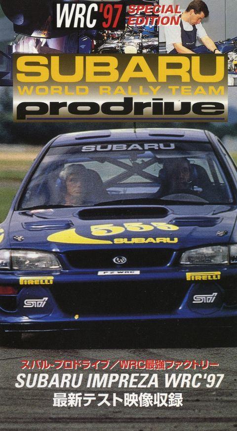 find vhs subaru world rally team prodrive impreza wrc 97