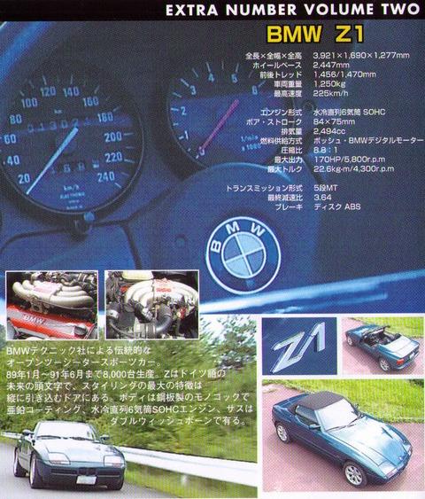 Bmw Z1 Price: BMW Z1 DVD [Nostalgic Car EX Vol.2]